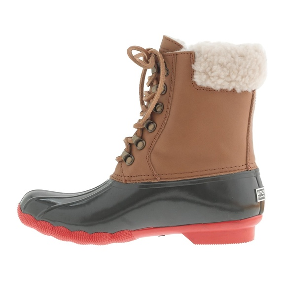 fdbcc2a432c1e Sperry Top-Sider for J Crew Shearwater Duck Boots.  M 5bb426f0e944ba5e39bce5f4